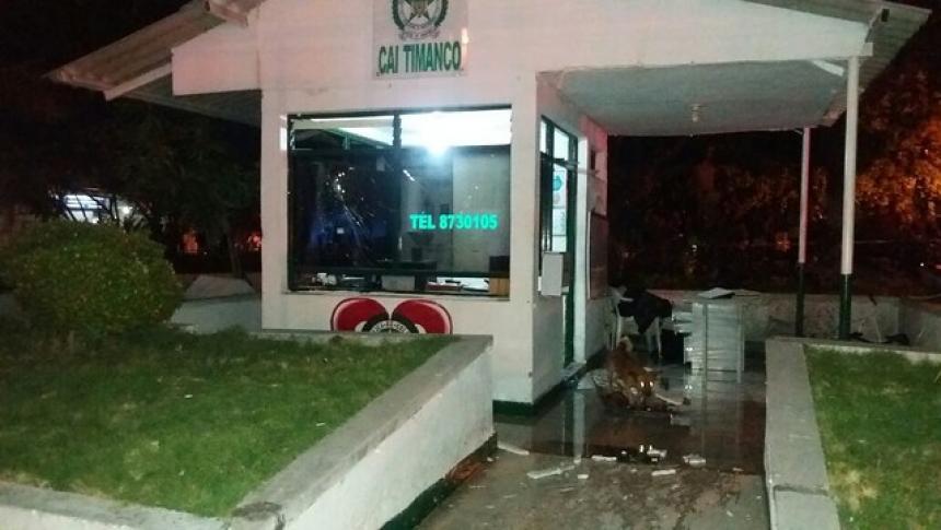Ataques terroristas en Neiva dejan 3 policías y 3 civiles heridos
