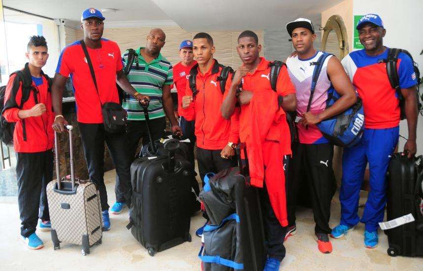 Colombia enfrenta a Cuba en la VII Serie Mundial de Boxeo