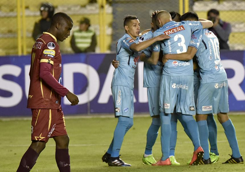 1-0. Bolívar se clasifica con lo justo en la Sudamericana