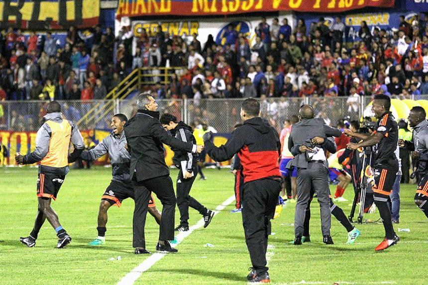 Independiente Medellín perdió 4 - 1 ante Deportivo Cali
