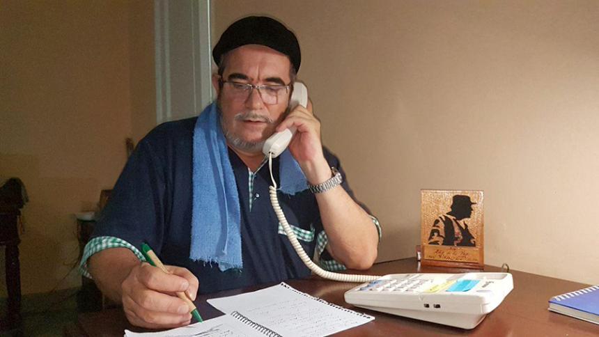 Jefe de FARC denuncia