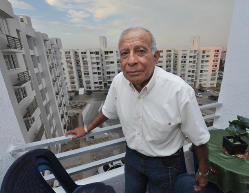 Falleció la leyenda del fútbol Marcos Coll en Barranquilla