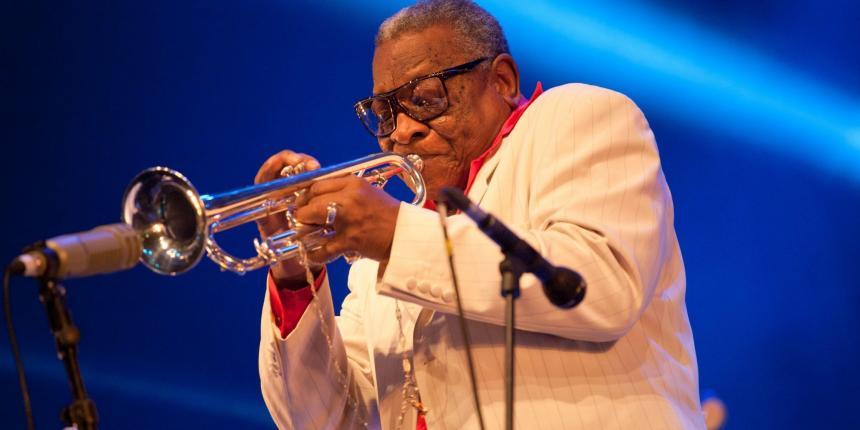 Falleció el trompetista de jazz 'Tito' Puentes