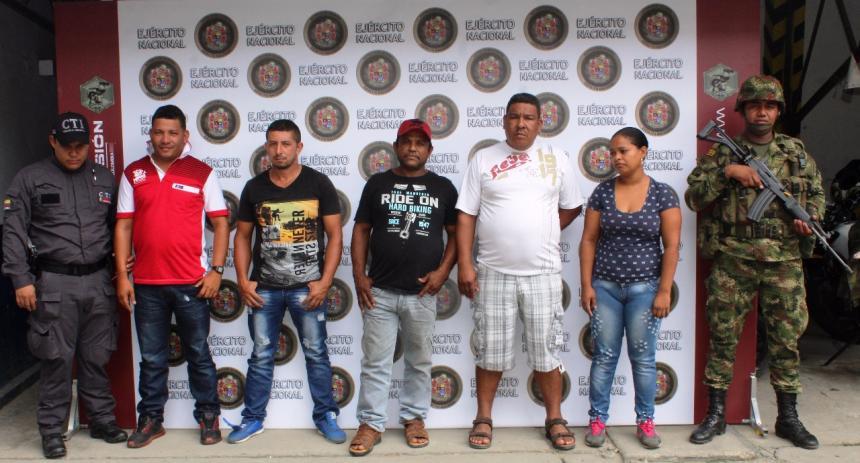 Capturados integrantes del Clan del Golfo que financiaban Plan Pistola