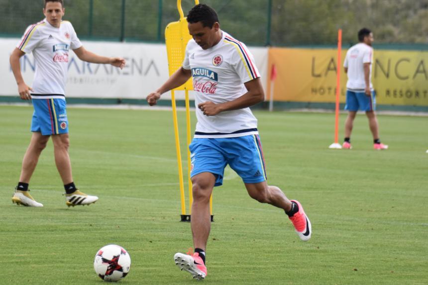 Selección Colombia llega a Madrid para preparar amistoso con Camerún