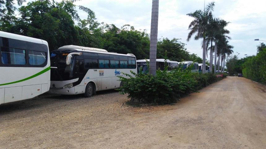 Por huelga de empleados, huéspedes de Decameron Barú fueron desalojados