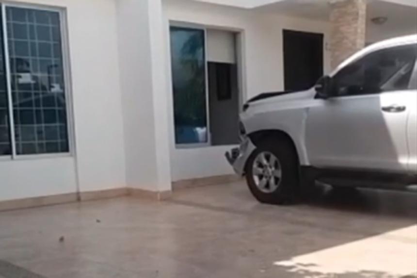 Camioneta de la UNP asignada a alcaldesa de La Paz protagonizó accidente de tránsito en Valledupar