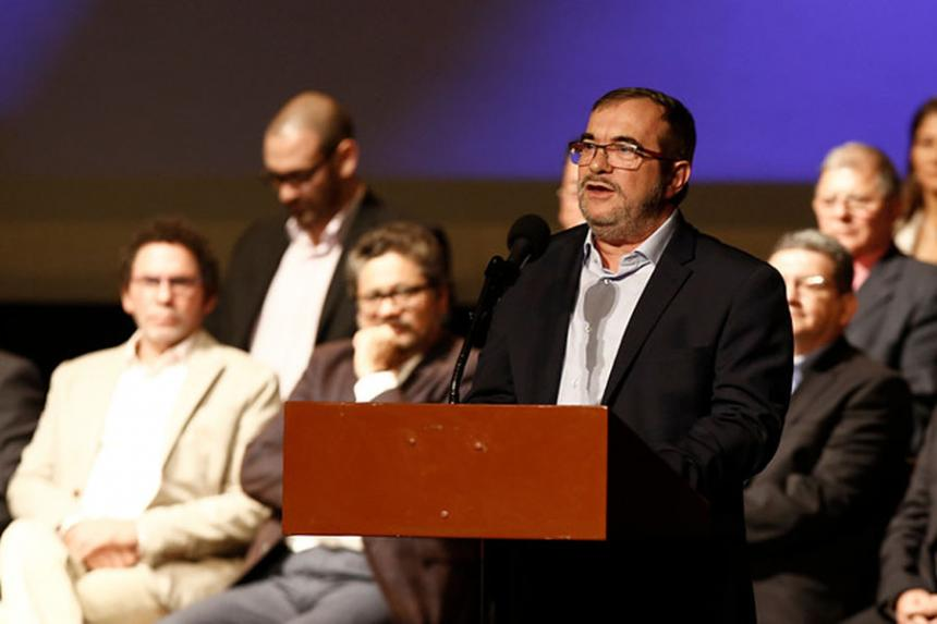 Proceso de paz en Colombia fracasará sin Jurisdicción Especial, dice guerrilla FARC