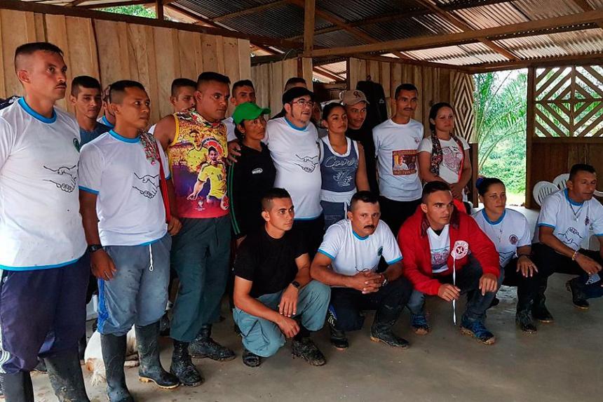 Comienza selección de guerrilleros de FARC que se capacitarán como escoltas