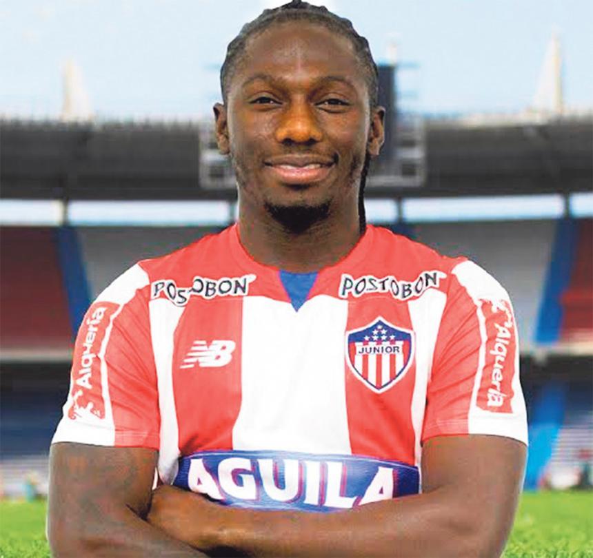 Teófilo Gutiérrez, nuevo jugador de Junior de Barranquilla