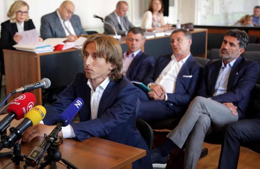 Luka Modric, del Real Madrid, en graves problemas con la justicia croata
