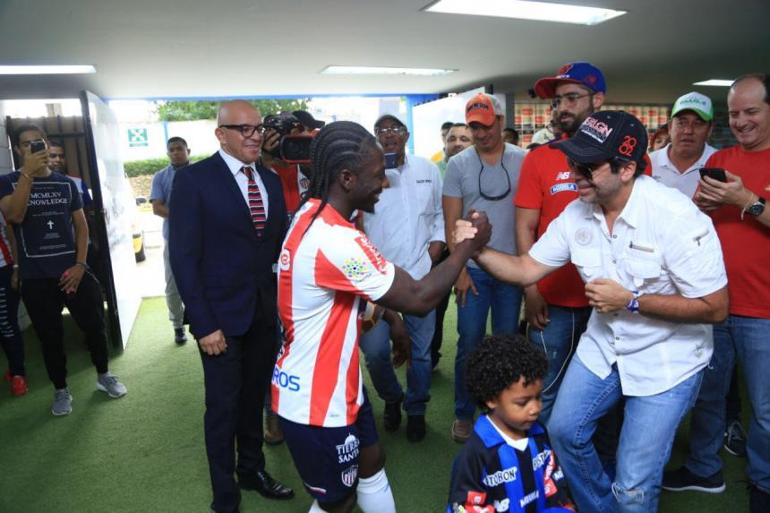 Gutiérrez sale de Rosario Central y regresa a Atlético Junior de Barranquilla