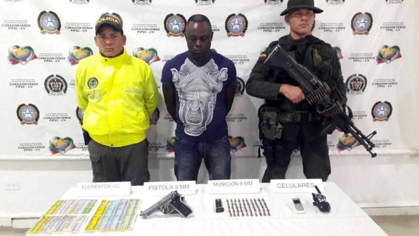 Capturan a presunto responsable del Plan Pistola en zona costanera de Córdoba