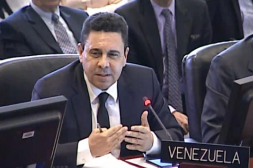 Delcy Rodríguez deja el cargo de canciller de Venezuela