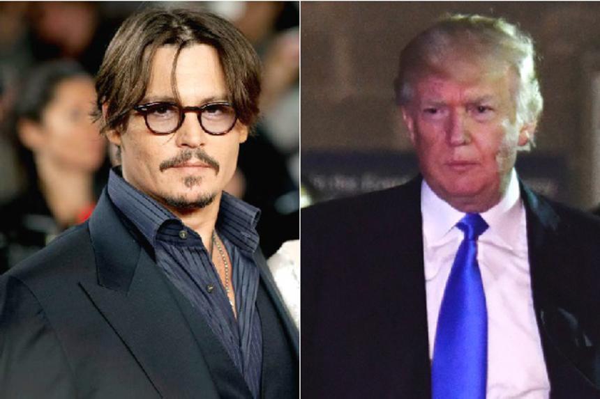 Johnny Depp insinuó un asesinato contra Trump en Glastonbury