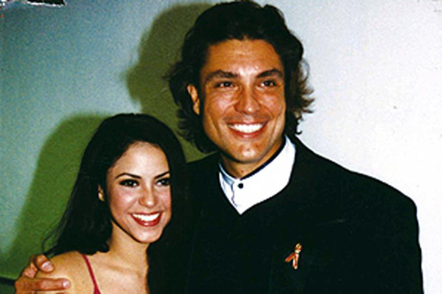 Recordando su noviazgo: así lucían Shakira y Osvaldo Ríos hace 20 años