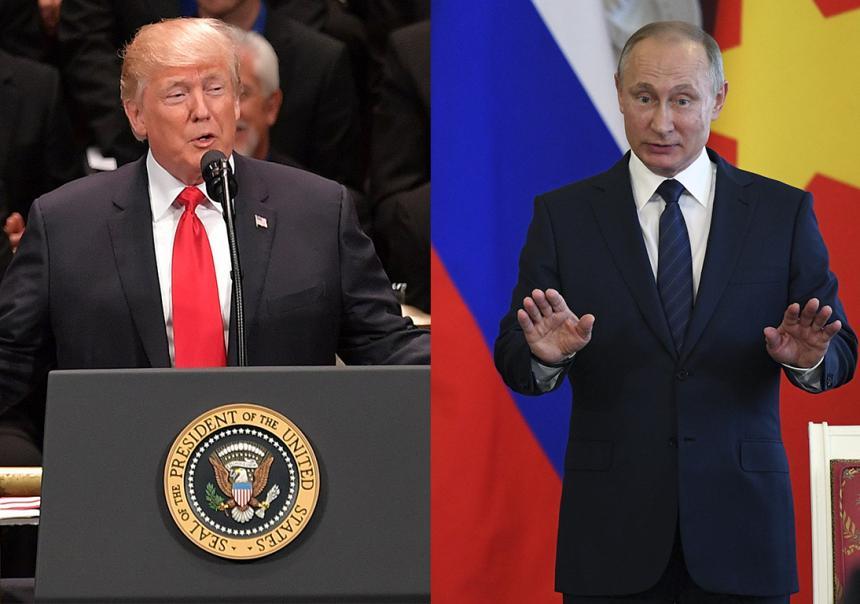Llega el primer cara a cara de Vladimir Putin y Donald Trump