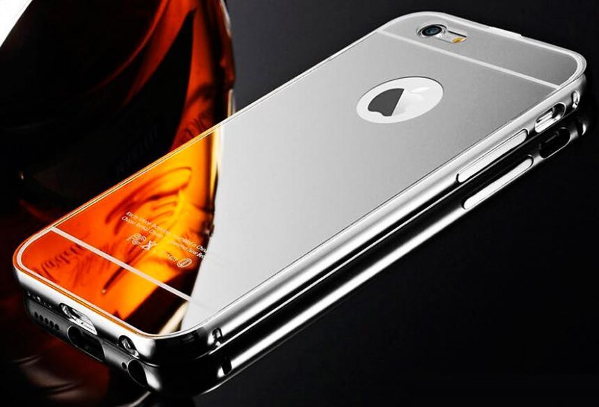 Filtran probables iPhone 8 con piel de espejo