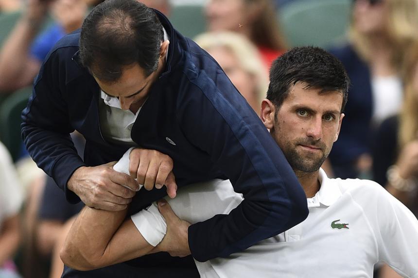 Federer también está en semifinales — Wimbledon