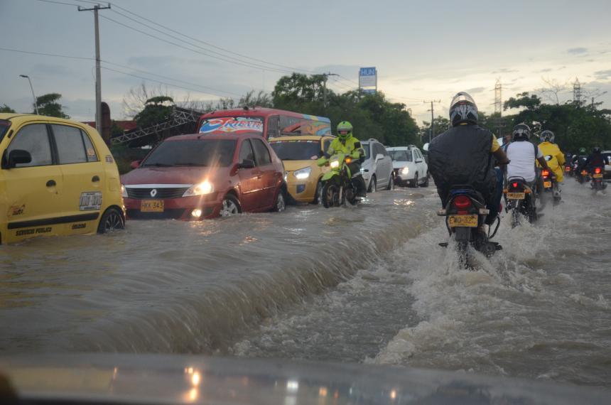 Alerta por 48 horas en el Caribe ante intensas lluvias