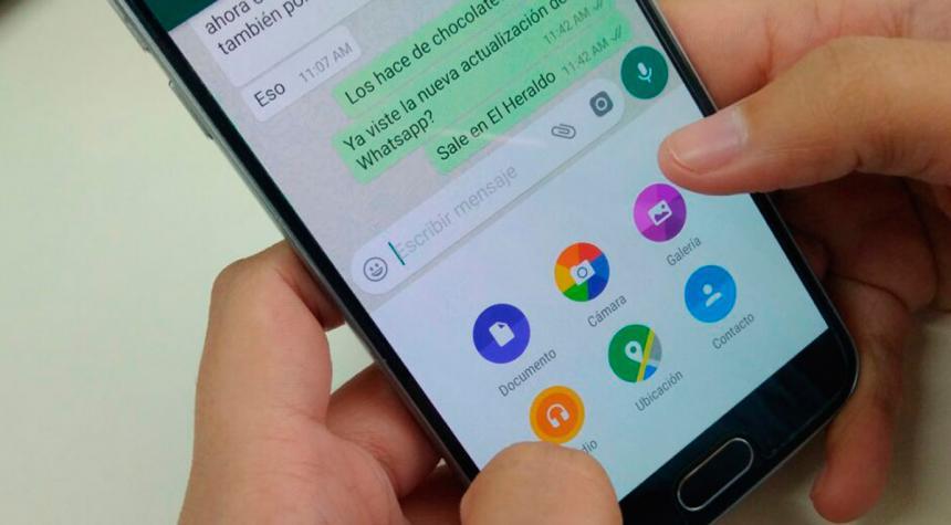 WhatsApp ya deja enviar archivos de cualquier formato