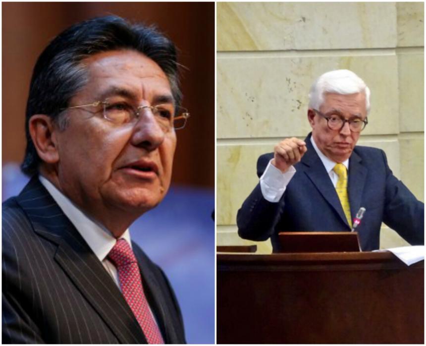 Jorge Robledo y Néstor Humberto Martínez lograron conciliar