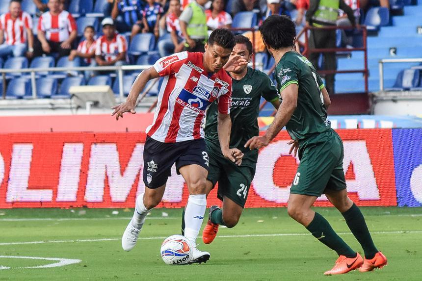 Junior perdió el invicto — Liga Águila