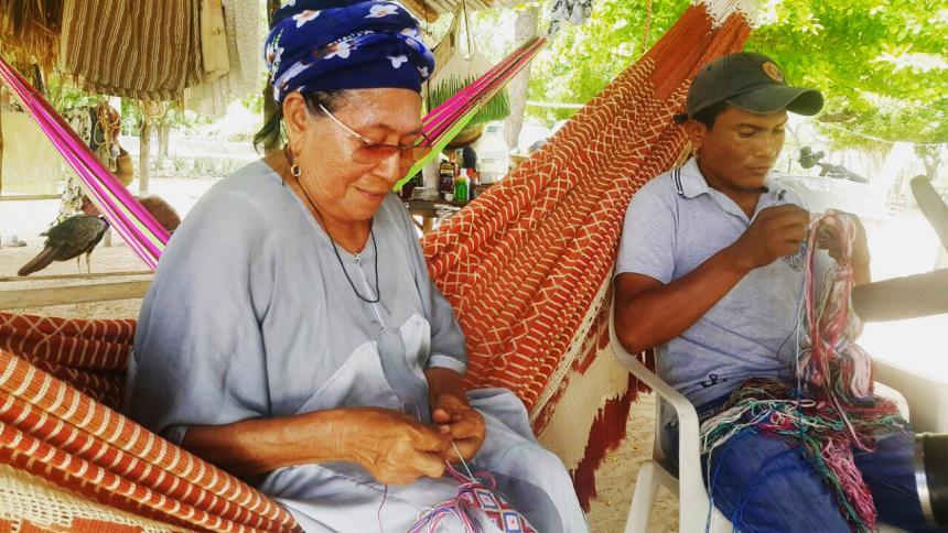 Etnia Wayúu tejerán cuatro túnicas para la visita del Papa Francisco