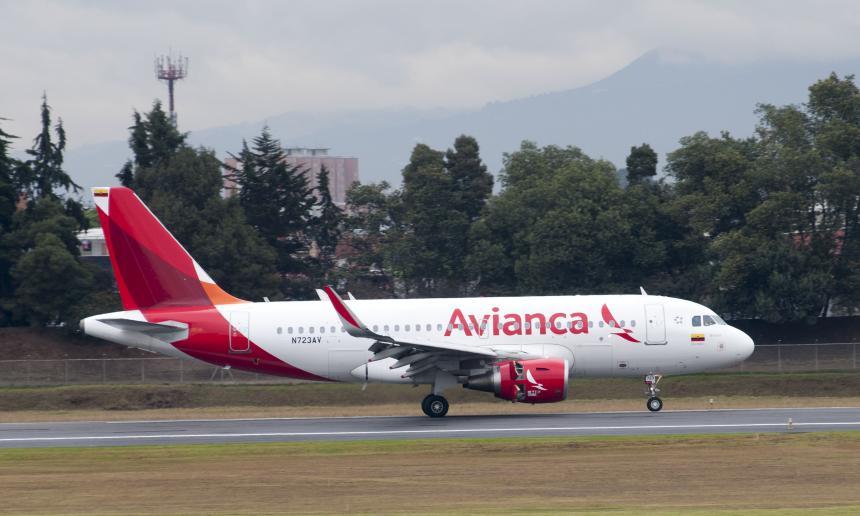 Avianca suspende desde este jueves sus vuelos a Venezuela