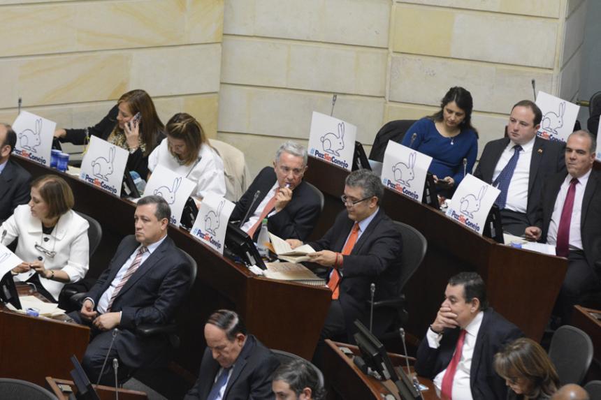El Centro Democrático radica modificaciones a decretos de paz | El ...