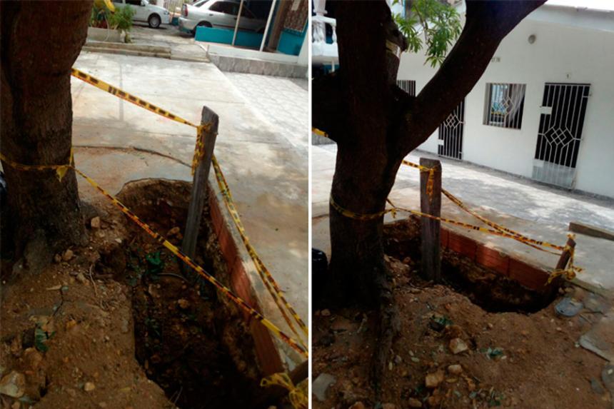Triple A reanuda obras de reposición de tuberías alcantarillado en ...