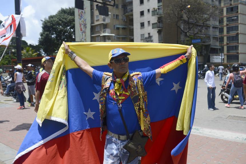 Oficialismo de Venezuela se moviliza en apoyo a Asamblea Constituyente