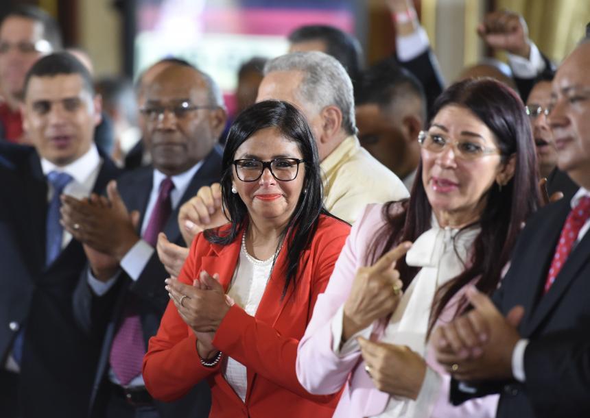 URUGUAY: Delcy Rodriguez: