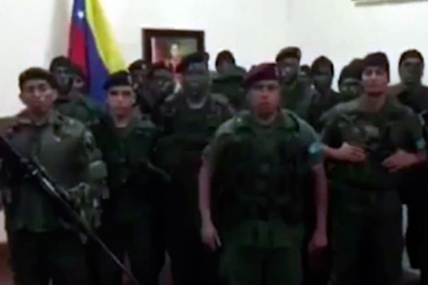 Maduro, tras la rebelión: