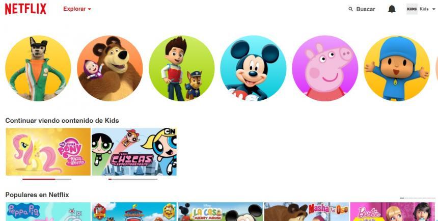 Captura de pantalla Netflix