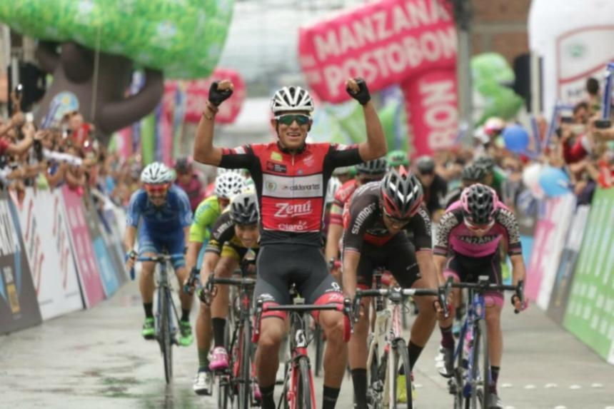 Aristóbulo Cala es el campeón de la Vuelta a Colombia 2017