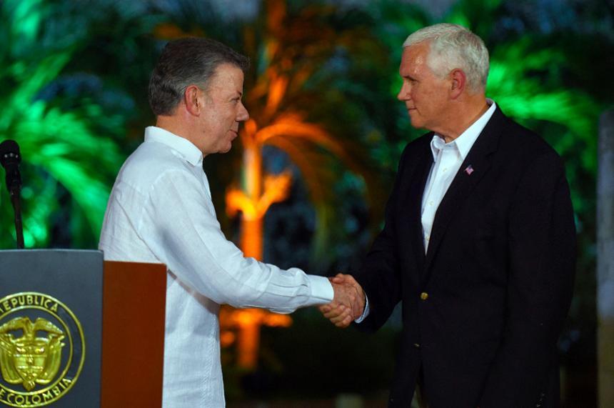 Mike Pence iniciará viaje por cuatro países de Latinoamérica
