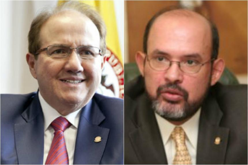 Musa Besaile y Andrade dicen que acudirán a la Corte