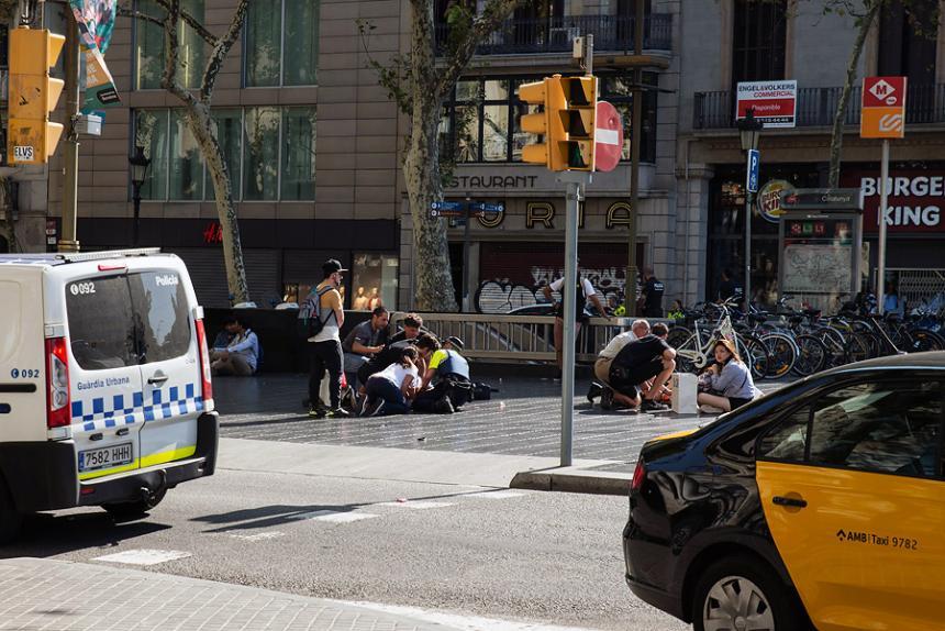 Estado Islámico reivindica atentado terrorista en Barcelona