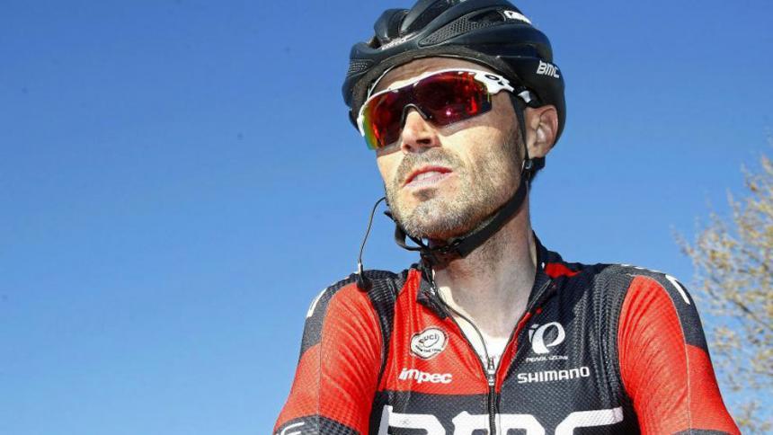El ciclista español Samuel Sánchez da positivo en un control antidopaje