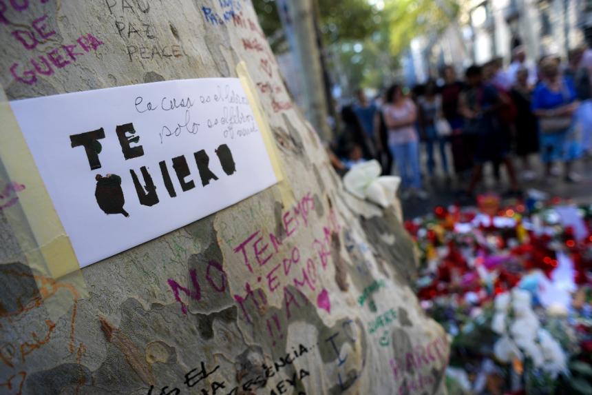 Ya son 15 las víctimas por atentados en Cataluña, todas están identificadas