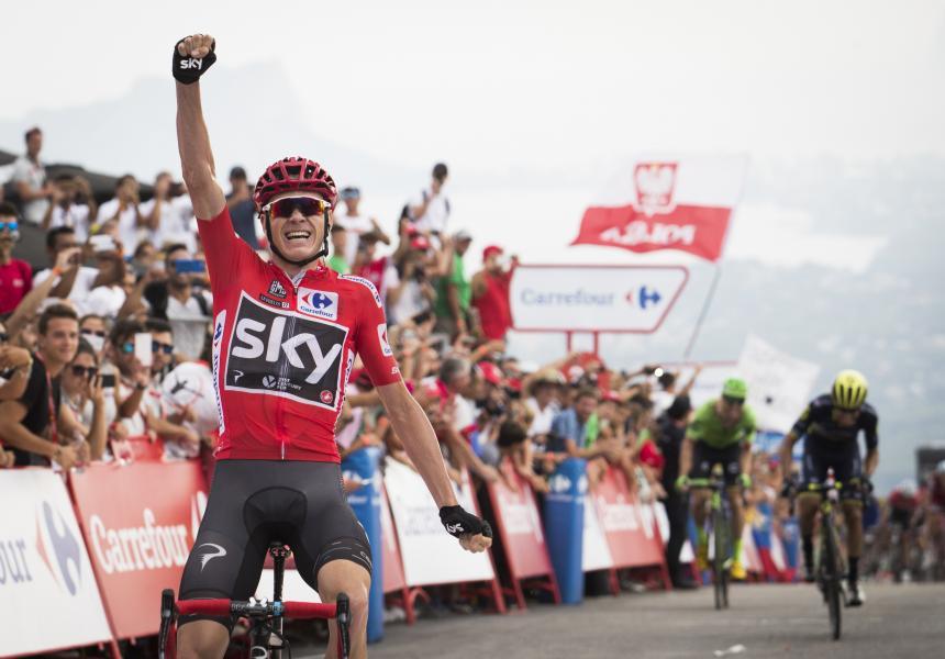 Chris Froome, más líder después del alto de Callar — Vuelta