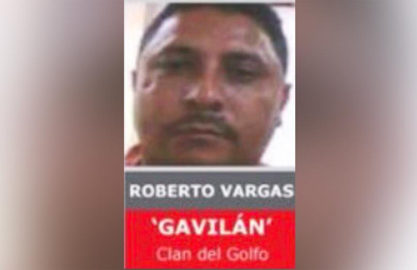 Abatido alias 'Gavilán', segundo al mando del Clan del Golfo