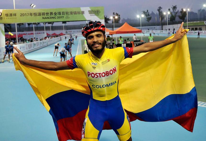 Lucas Silva obtuvo medalla de oro en los World Roller Games