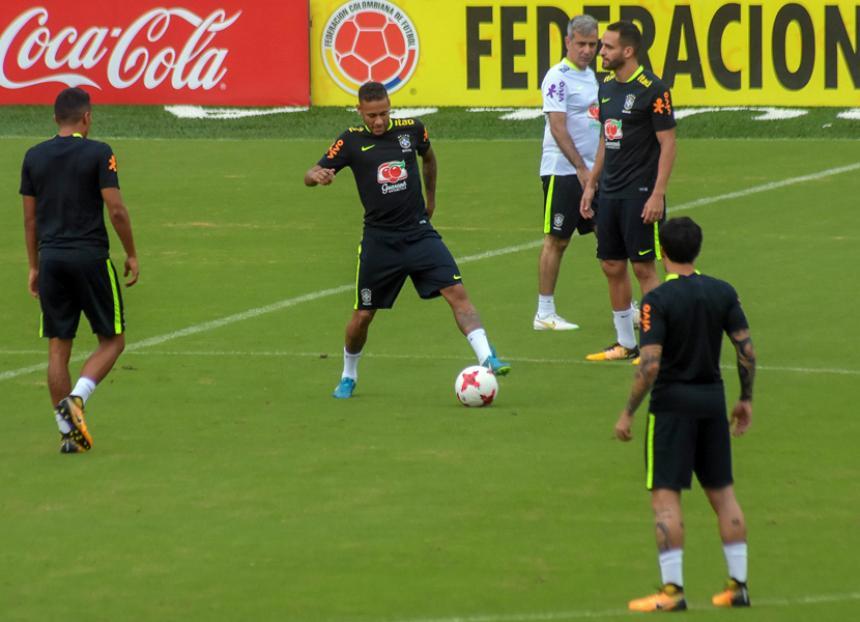 Colombia rescata un valioso empate ante Brasil