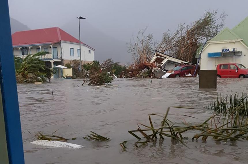Lluvias continúan afectando a la República Dominicana con el paso de Irma