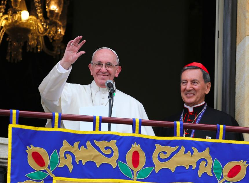 Resultado de imagen para discurso del papa a los jovenes en bogota