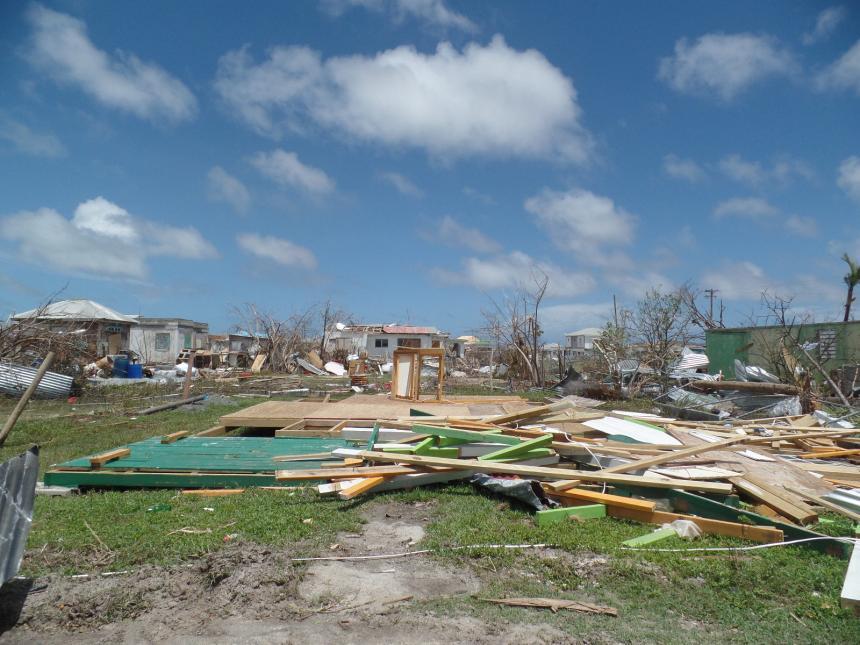 Las islas devastadas por Irma se preparan para el huracán Jose