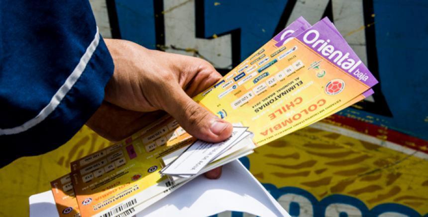 Nuevas reglas para la venta de boletas Colombia vs Paraguay