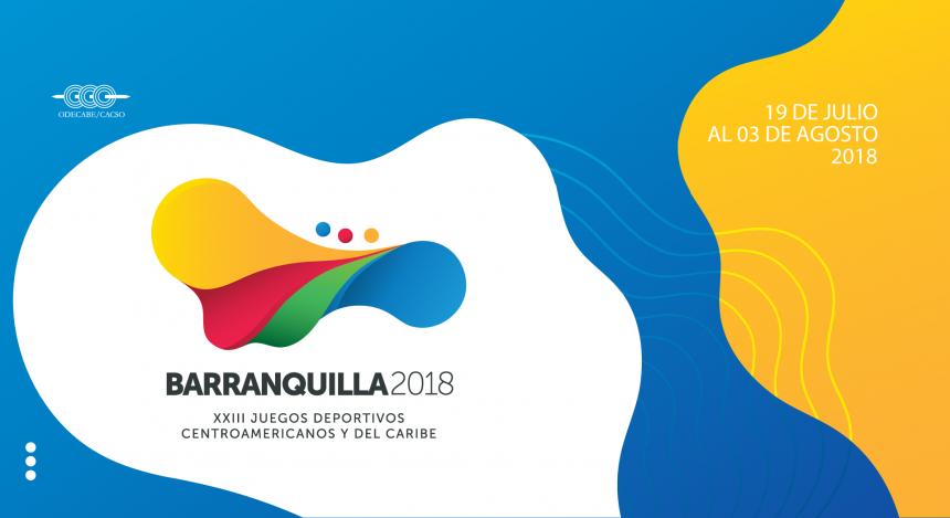 Resultado de imagen para juegos barranquilla 2018 logo